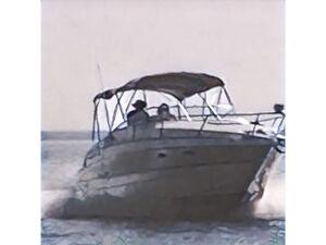 Power boat cruiser. Larson 26 feet , with trailer