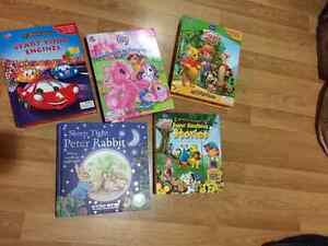 Children's Storybook with figurines and playmat