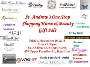 St. Andrew's One Stop Shopping Home and Beauty Sale