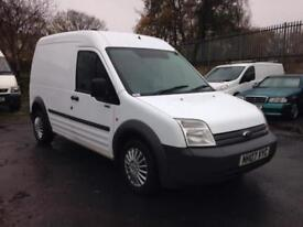 Black Friday sale Ford Transit Connect 1.8TDCi T230 LWB van as it as short mot