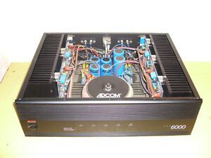 Adcom GFA-6000 power amplifier/amplificateur