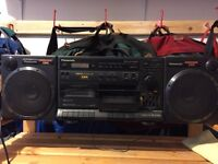 Panasonic tape and radio system