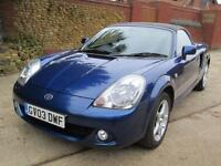 Toyota MR2 1.8 VVT-i Roadster 69K From New Full Service History**NOW SOLD**