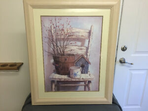 "Vivian Flasch ""Country Chair"" Print Sarnia Sarnia Area image 1"