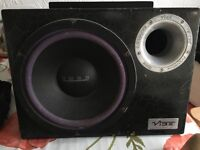 Vibe Subwoofer with built in Amp