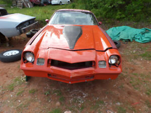 1980 camaro z28 project for sale