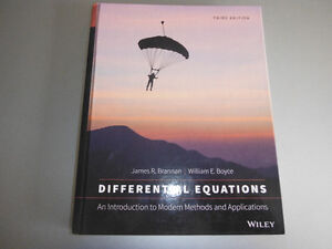 Differential Equations Introduction Modern Methods 3rd ed 2015