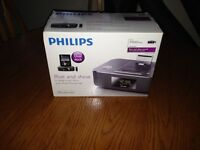 Philips Rise & Shine Dual Dock Station for iPhone iPad