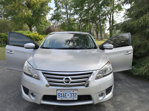 2013 NISSAN SENTRA SR FULLY LOADED AND IN MINT CONDITION, LOW KM