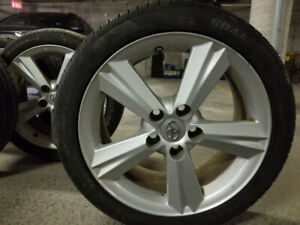 Alloy 17 in rims/General all season tires/2015 Toyota Corolla