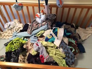 100 items : 3-6 month boys clothing