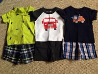 12m Carters outfits