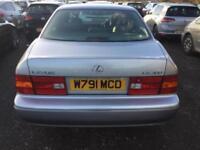 2000 LEXUS LS 400 4.0 4dr Auto