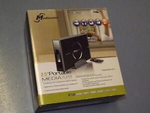 Mediasonic HM2-U2TV Portable Media Player & Drive Enclosure