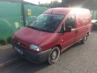 2003 53 Peugeot expert 1.9d .. runs and drives .. spares or repairs. scudo dispatch