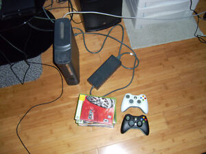 XBox 360 Elite 120 GB with Games Bundle - Mint Condition