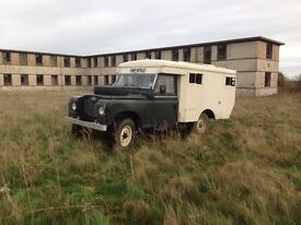 Landrover 1971 series 2 military ambulance,motd ,