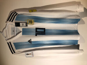 Argentina Jersey Messi 10- Fifa world cup 2018 (Large)