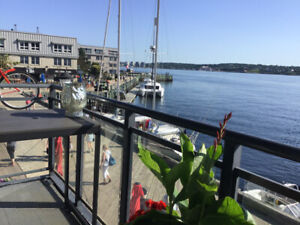 Waterfront condo on the Halifax Harbour