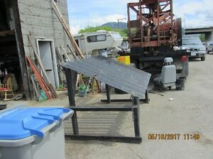 GOLD CLAIM EQUIP SLUICE BOX AND SMALL GRIZZLY $1100