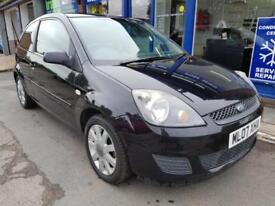 2007 FORD FIESTA 1.4 3 DOOR PANTHER BLACK 102K MOT AUG 2018