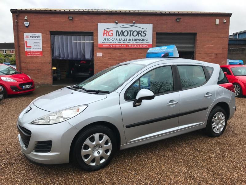 200959 Peugeot 207 Sw 16 Hdi 90 Ac Silver 5dr Estate Any
