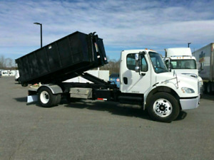 $180 plus load for bin rental or cheap junk removal  services