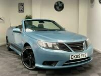 2009 Saab 9-3 1.8t Linear SE 2dr STUNNING LOOKING SAAB CONVERTIBLE+PX BARGAIN CO
