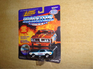 Johnny Lightning Dragsters USA diecast cars
