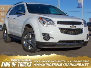 2015 Chevrolet Equinox LTZ  - Bluetooth -  Leather Seats