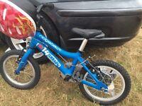 Ridgeback 14 blue bike