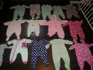 Lot of girls baby clothing!