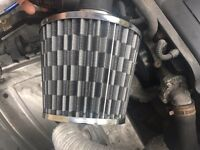 Performance air filter universal fits most cars