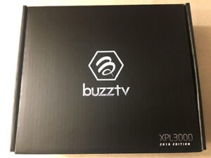 BuzzTV XPL3000 (2018 EDITION)-Android7.1-2GB-4K-IPTV Box- $110