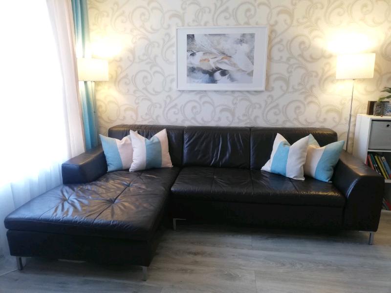 Dfs Genuine Leather Corner Sofa In Leith Edinburgh Gumtree