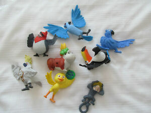 MCDONALDS RIO LE FILM 8 FIGURINES JOUETS