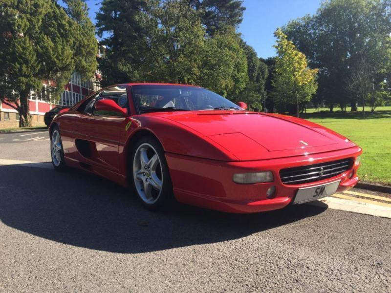 1997 Ferrari F355 Berlinetta 6 Speed Manual 2 door Coupe