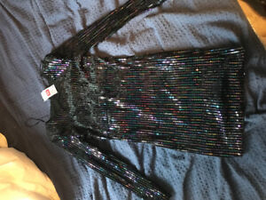 Sequined Dress - Muticolour