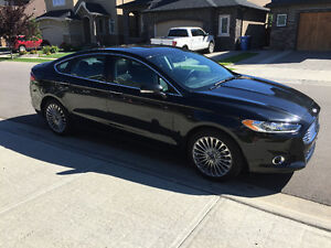 2015 Ford Fusion Titanium With Maintenance & Warranty Package