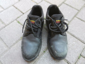 Used Leather Safety Shoes