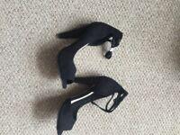 ASOS black sandals size 3