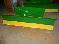 Blades and Pallet Forks for Small John Deere Tractors
