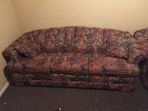 Matching sofa & love seat