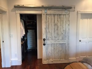 RECLAIMED SLIDING BARN DOORS, WALL CLADDINGS and more