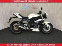 TRIUMPH STREET TRIPLE ABS MODEL 12 MONTH MOT 2016 16