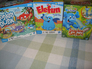 3 games from makers of Elefun