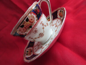 cup and saucer  ROYAL ALBERT  CROWN CHINA  extremely rare