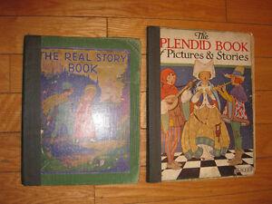 ANTIQUE CHILDREN BOOKS
