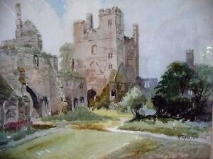 Historic Landmark, Wingfield Manor, Derbyshire by H. Toplis 1958 Stratford Kitchener Area image 2