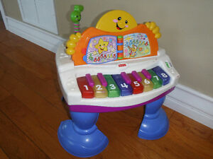 Piano musical fisher-price